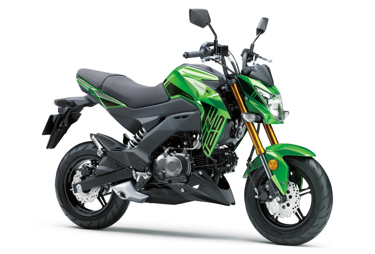 Z125PROライムグリーン